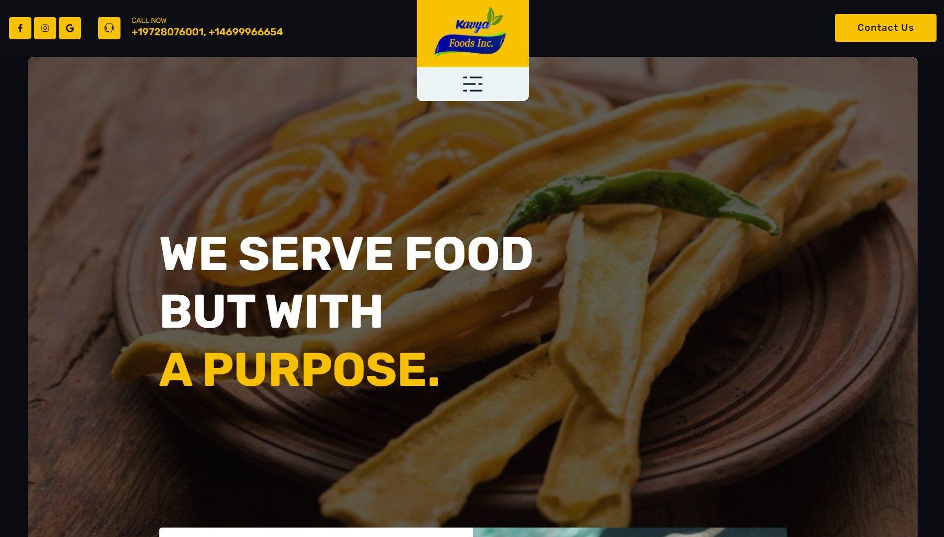 Kavya Foods Inc